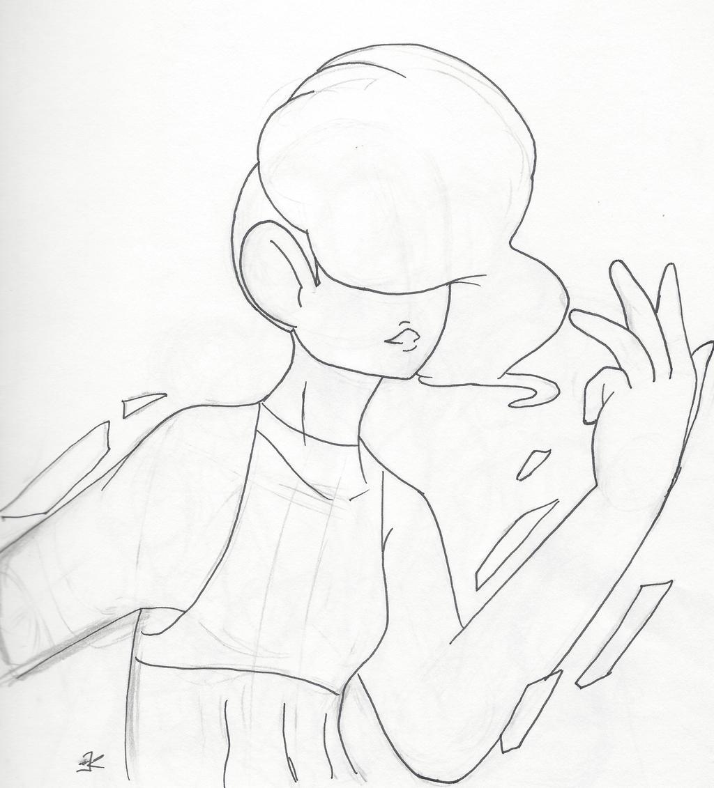 Quick Sketch: Chrysoberyl by bluestarproduction
