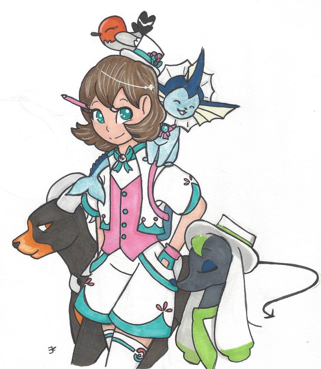 Pokemon OC by bluestarproduction