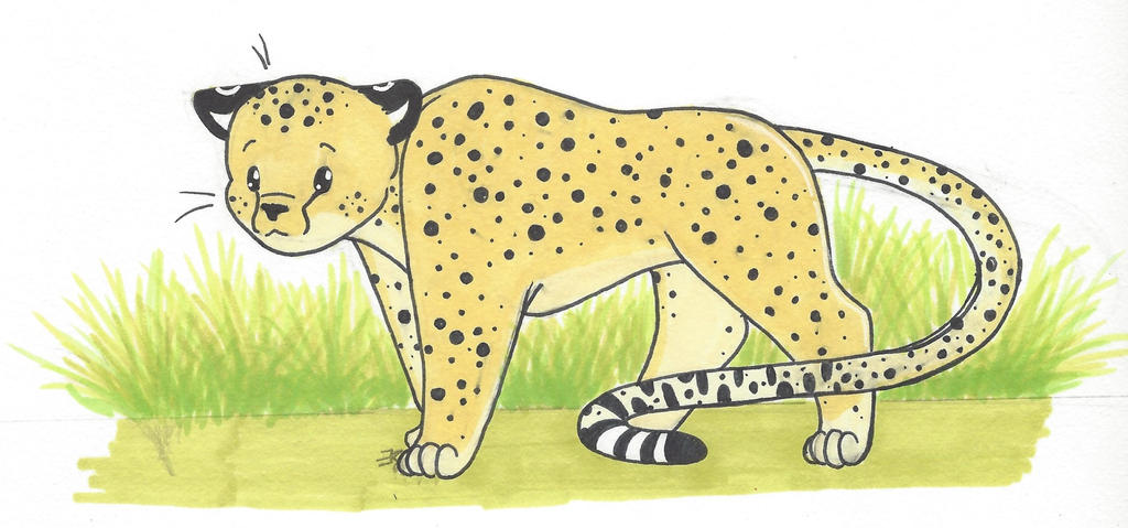 Corgi Cheetah by bluestarproduction