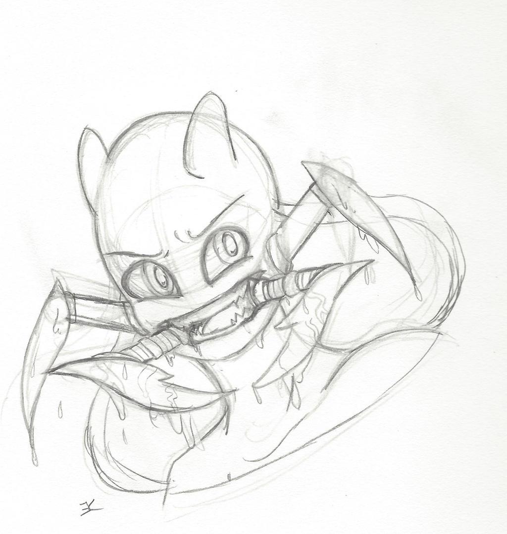Sketch: Bite by bluestarproduction