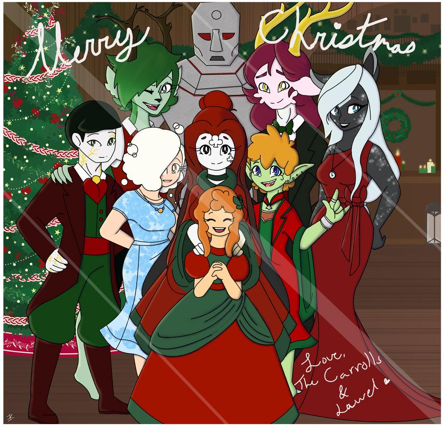 The Carroll Christmas Card by bluestarproduction