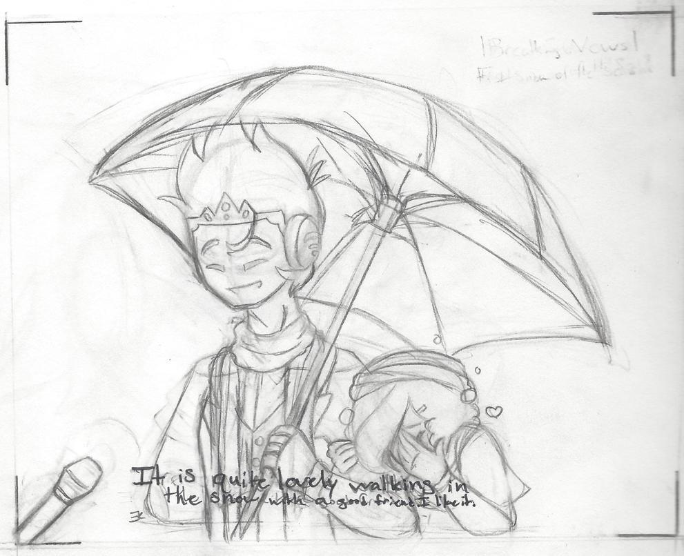 Sketch: Special Feeling Meme by bluestarproduction