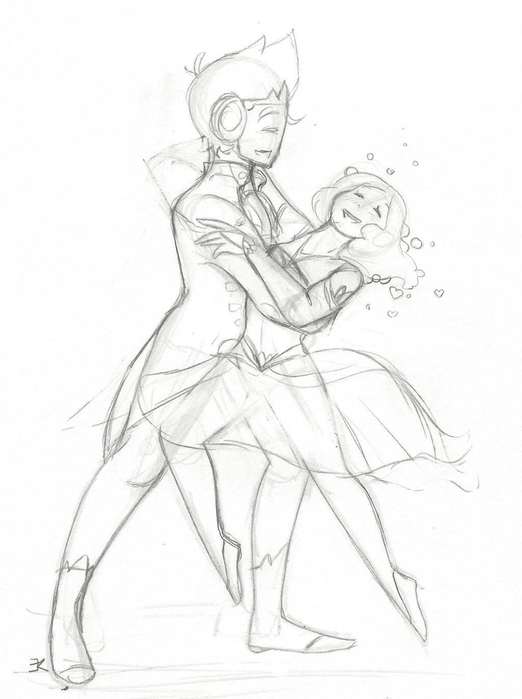 Sketch: Dance by bluestarproduction