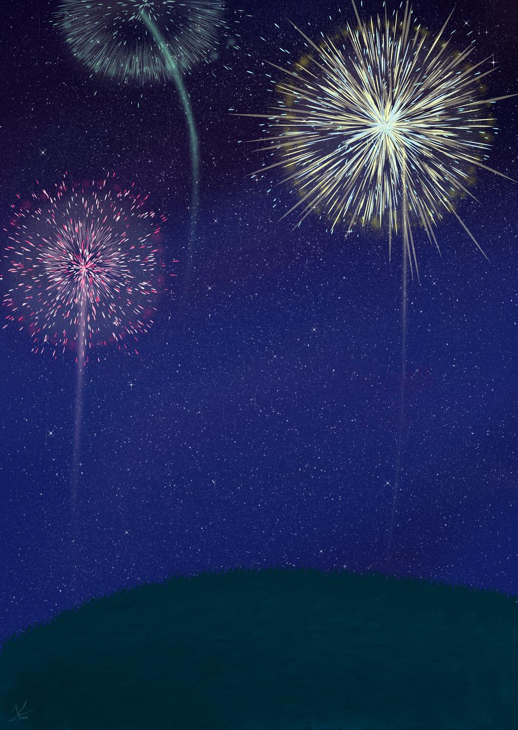 Fireworks by bluestarproduction
