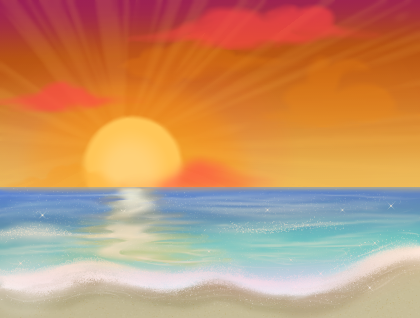 Sunset Summers by bluestarproduction