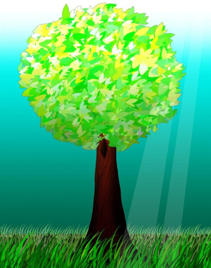 A Tree by Miss-Kia
