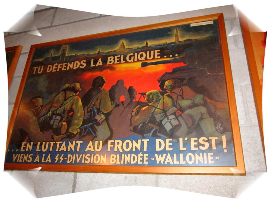 Waffen-SS Propaganda Poster by Valkyrja-Skuld