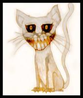 Cheshire cat by Nannaa