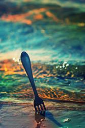 fork and the sea by Anti-Pati-ya