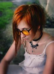 yellow glasses by Anti-Pati-ya