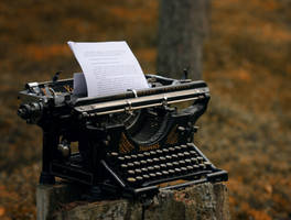typewriter by Anti-Pati-ya