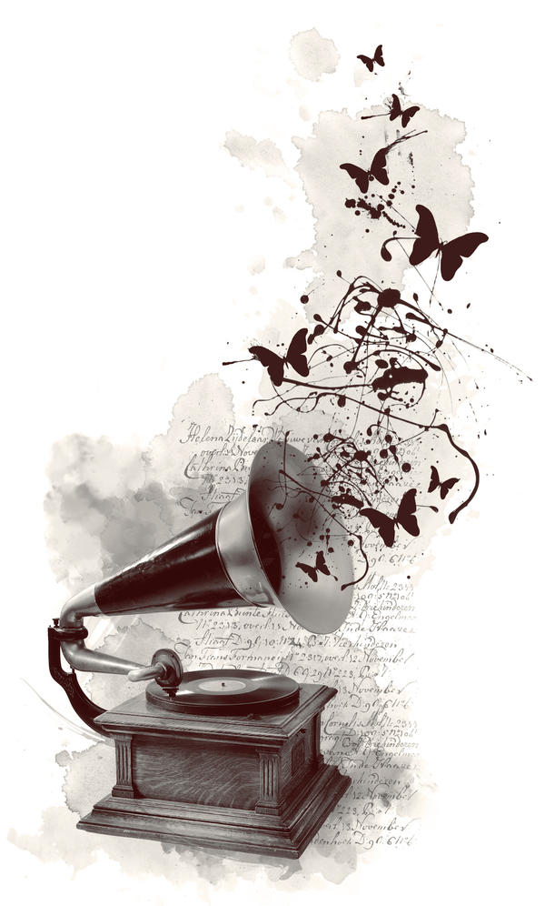 gramophone by Anti-Pati-ya