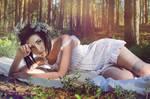 sleep in the summer woods 06