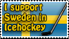 sweden ice hockey stamp by morgy23