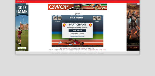 QWOP- on my way to 100 by Not-A-Guest