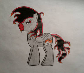 OC Storm fire in show style by stormfire687
