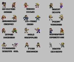 Lista de Personagens 3