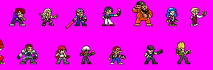 Kof XIV roster
