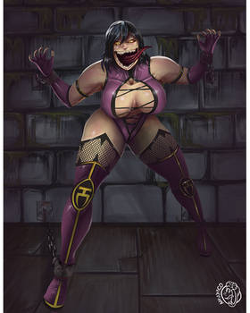 Mileena in chains