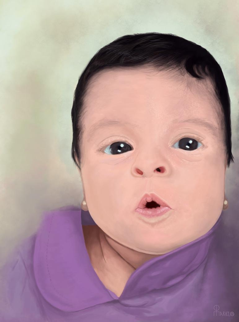 The niece by Marcelo-C-C-Filho