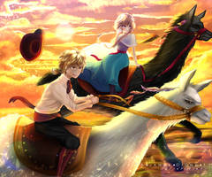 Runaway with the Magical Llamas by Ariannedione11