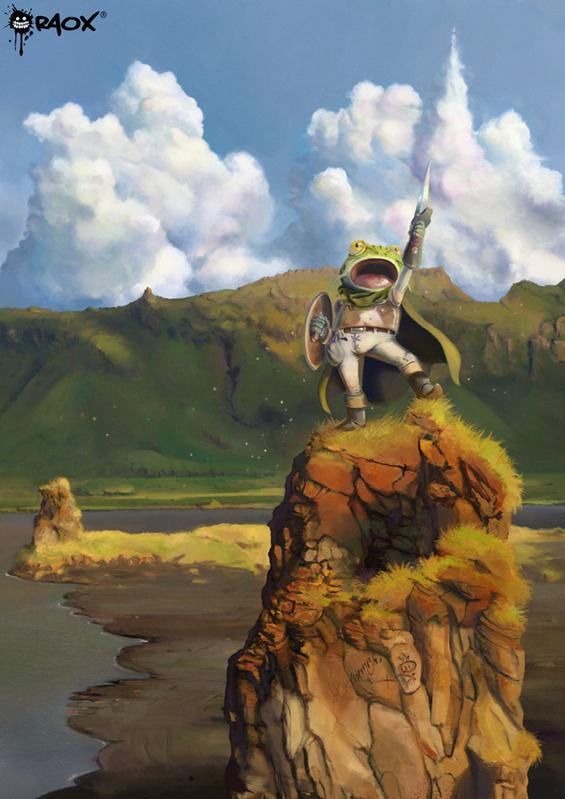 Chrono Trigger: Glenn by raoxcrew