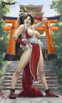 Fatal Fury: Mai Shiranui by raoxcrew