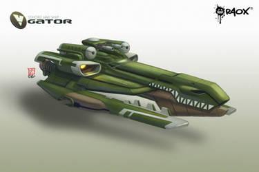 WhiteHole: Gator Ship by raoxcrew