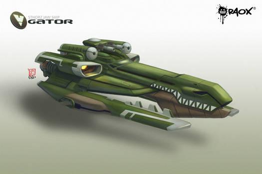 WhiteHole: Gator Ship
