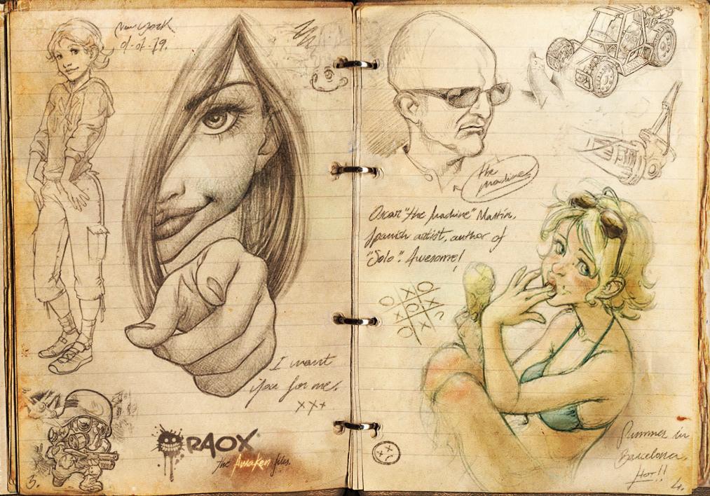 The Awaken Files.1 by raoxcrew