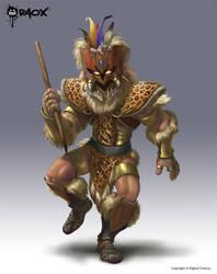 Tribal Warrior by raoxcrew