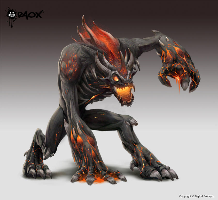 Demon Beast by raoxcrew