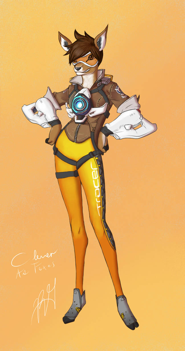 Overwatch Animal Collaboration- Tracer