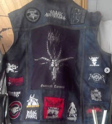 The back of my battle jacket