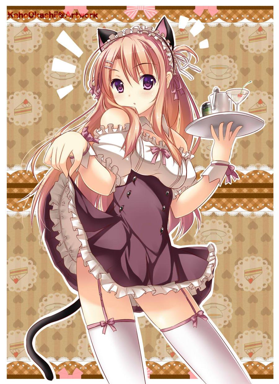Neko maid cafe Youkoso by KahoOkashii