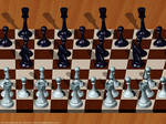 Chess. Single Image Stereogram