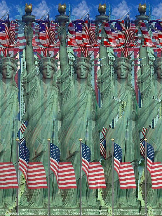 Statue of Liberty by 3Dimka