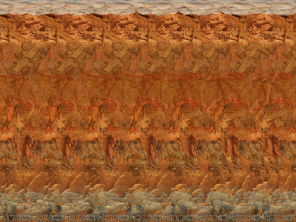 Are absolutely Stereogram two images nude