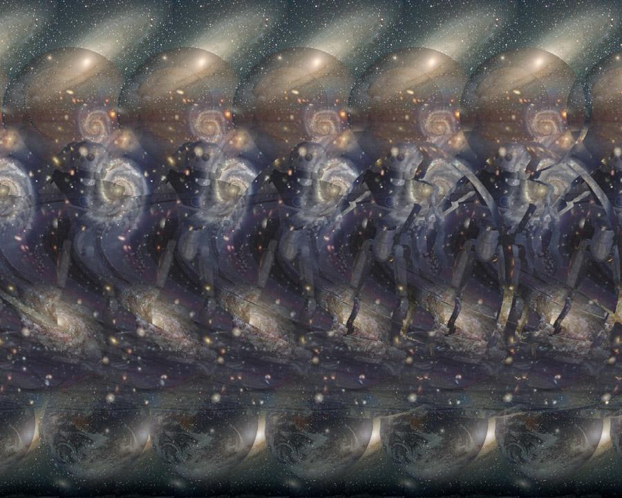 Stereogrami - Page 2 Space_Surfer_Stereogram_by_3Dimka