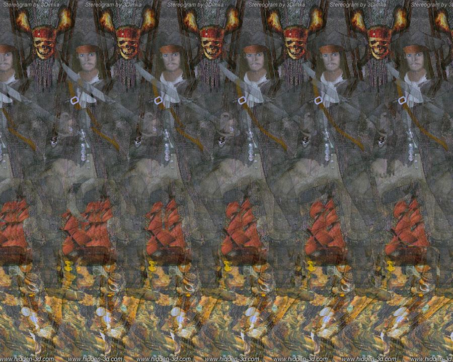 tworzenie obrazów 3d - stereogram