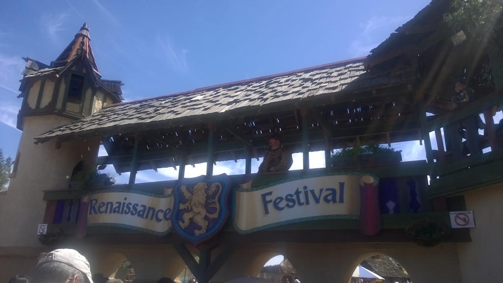 Entrance to the Arizona Renaissance Festival 2015 by artisticwonder24