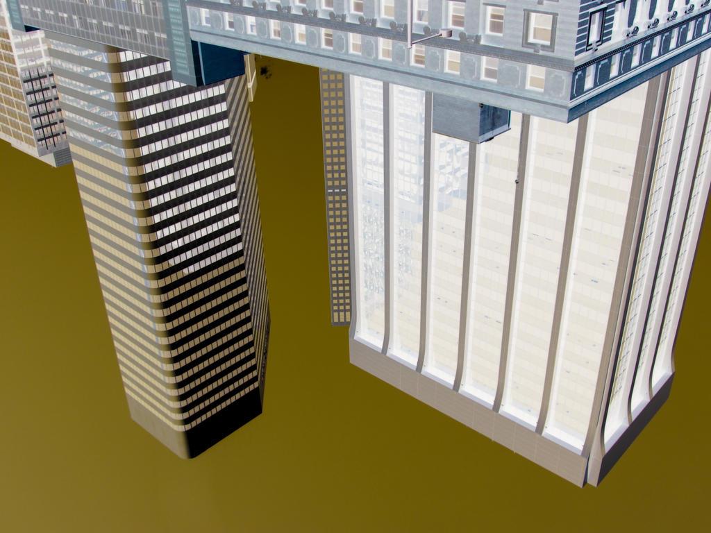 Upside down Town by artisticwonder24