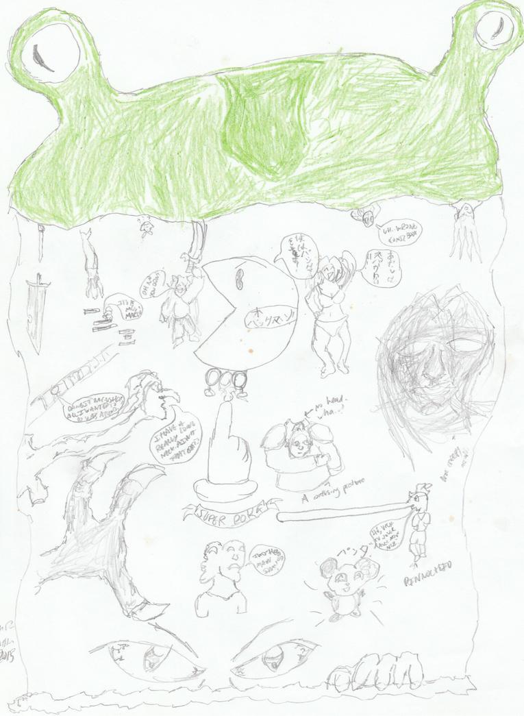 Waterfall of ideas by artisticwonder24