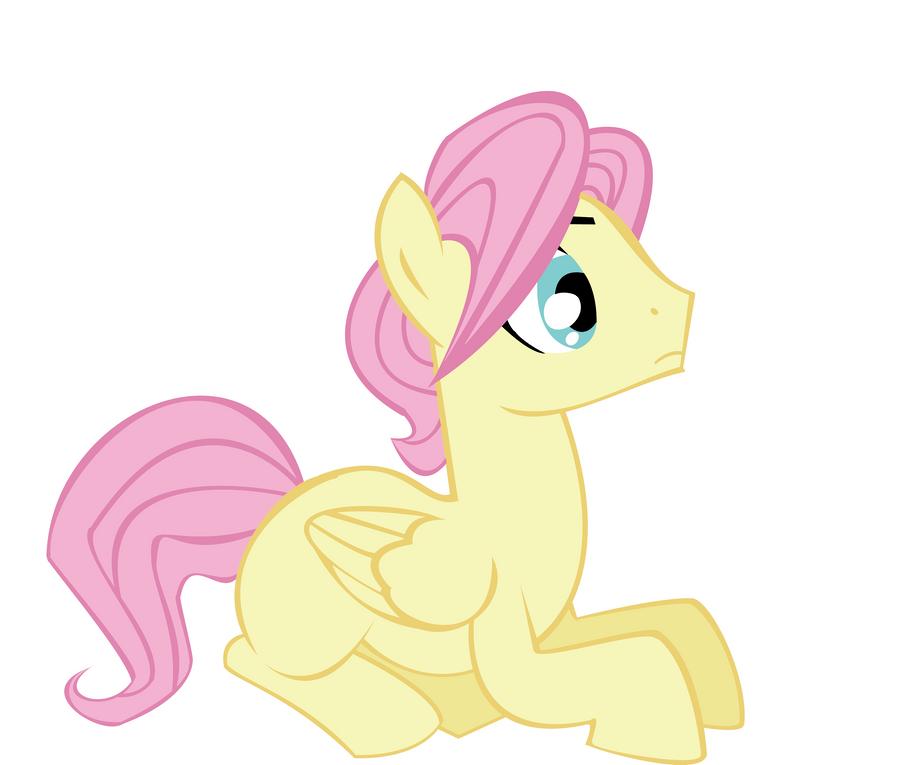 my little pony colt Male_fluttershy_vector_by_derpilish-d3po0p1