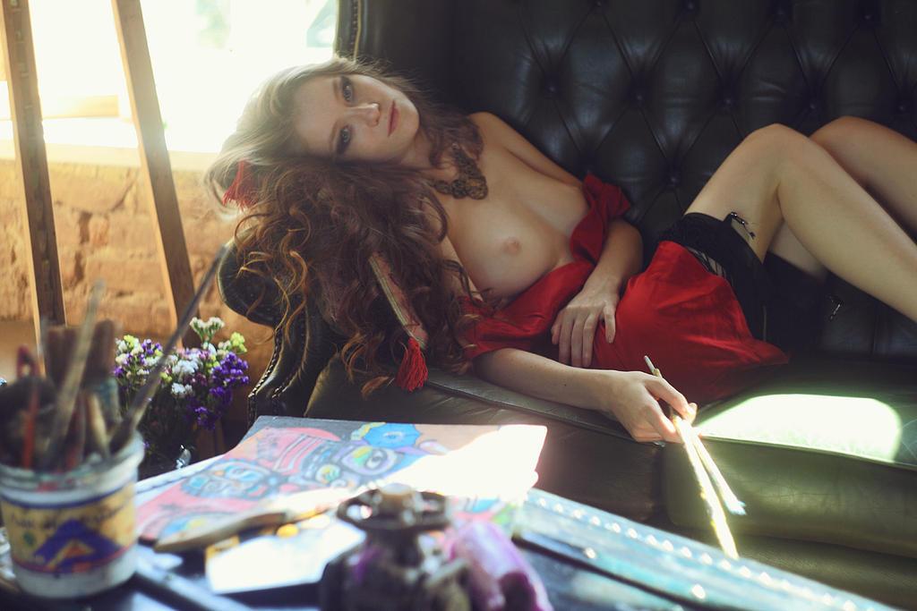 beauty painter by IlonaShevchishina