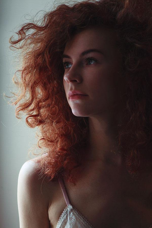 Red hair beauty by IlonaShevchishina
