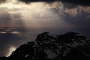 Andaman sea sunset by IlonaShevchishina