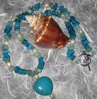 Turquoise Wisdom Necklace by impaz0330
