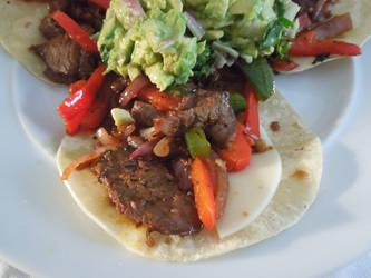 Beef Fajitas by crotafang
