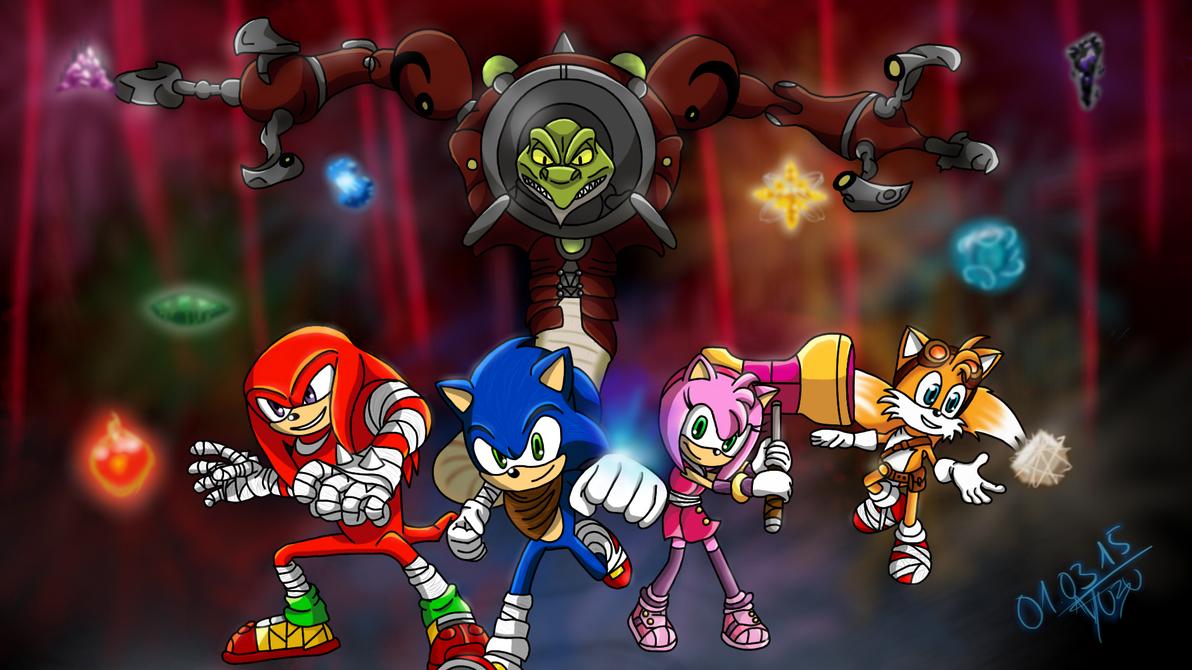 Sonic Boom: Together against Lyric! by Yuzuyuu